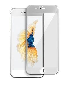 TEAMGROUP十銓科技 iPhone7日本ASAHI旭硝子玻璃保護貼(Japan Asahi AGC Glass) 3D/9H (等同於康寧玻璃等級) 4.7吋白色面板