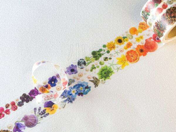 *小徑文化*日本進口 RT Flower Line 系列 - Shell & Colorful ( YD-MK-067 )