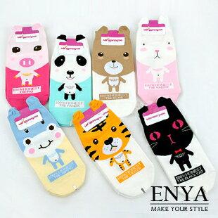 可愛糖果小小動物園襪子 Enya恩雅(正韓飾品)【FIAW4】