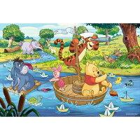 小熊維尼周邊商品推薦Winnie The Pooh溪水遊樂趣拼圖1000片
