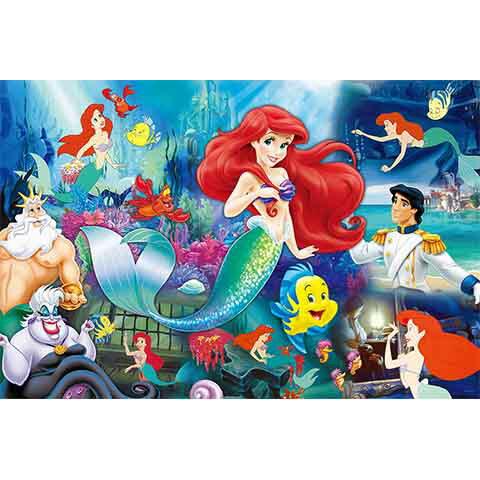 Disney Princess小美人魚拼圖1000片