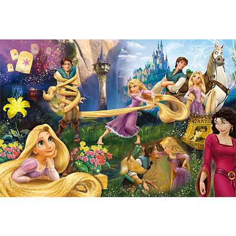 Disney Princess魔髮奇緣拼圖1000片