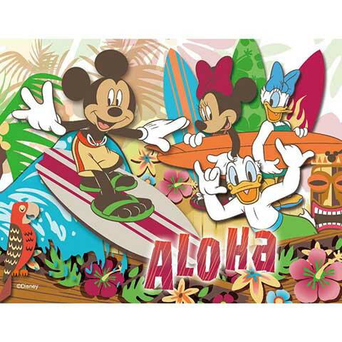 Mickey Mouse&Friends夏威夷衝浪拼圖500片