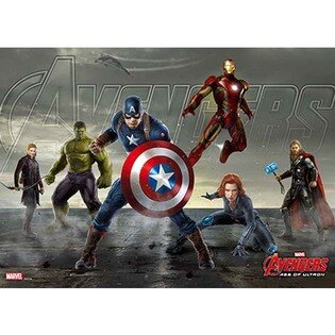 Avengers Movie 2  復仇者聯盟2:奧創紀元(2)拼圖108片