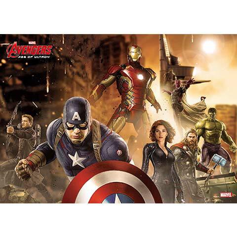 Avengers Movie 2  復仇者聯盟2:奧創紀元(3)拼圖108片