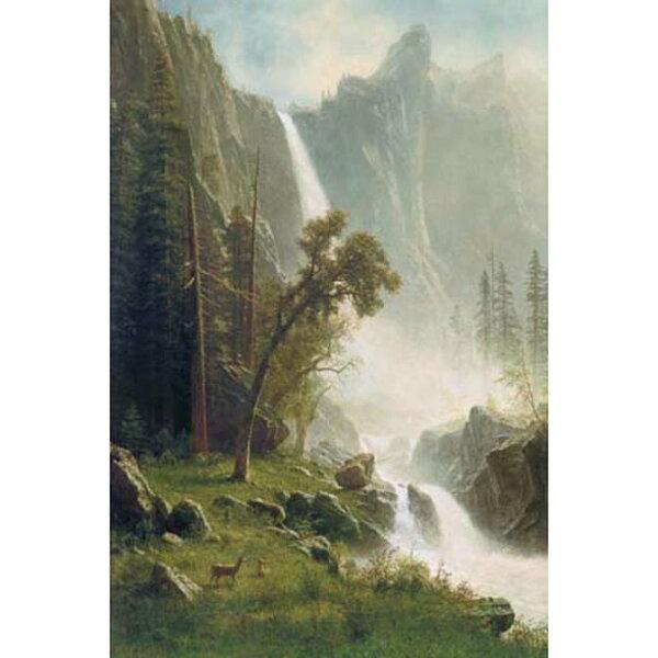 1000片拼圖 名畫: 亞伯特-優勝美地瀑布 Bridal Veil Falls, Yosemite