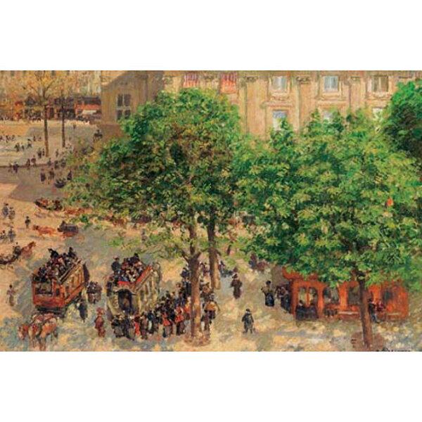 1000片拼圖 名畫: 劇場 Place du Theatre-Francais. Spring
