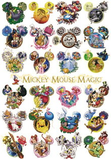 1000片 MICKEY MOUSE MAGIC