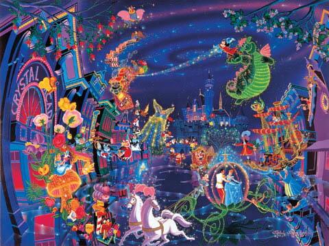 108片 迪士尼燈會遊行