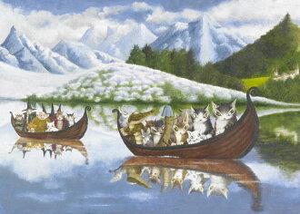 500片 達洋貓 乘船出發去