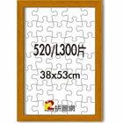 520片 拼圖 框~~平面 柚木 ~  好康折扣