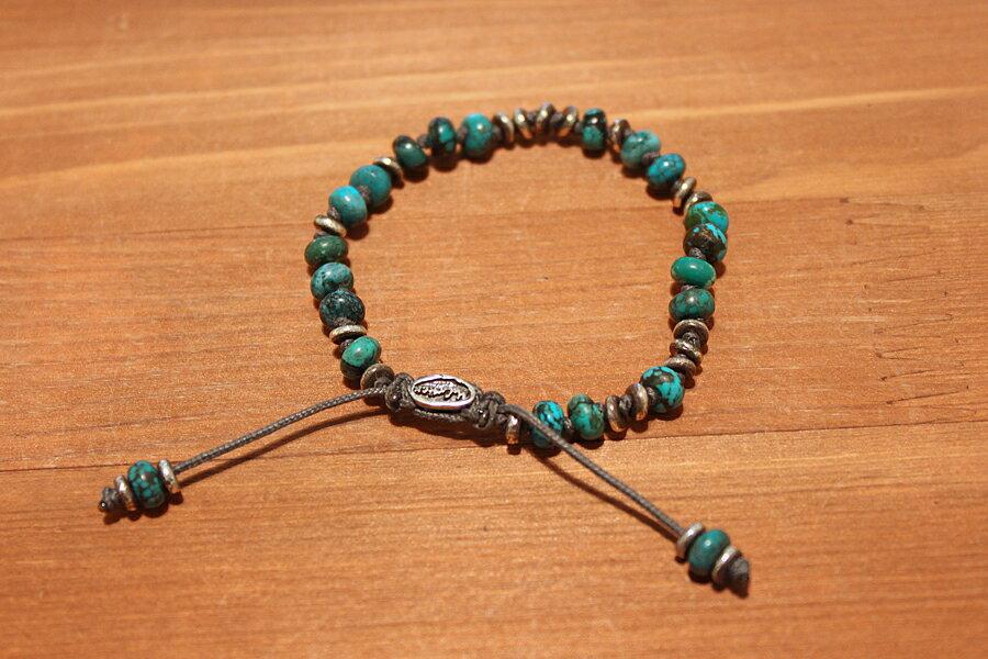 【現貨商品】【M.Cohen】英國聖殿綠松石手環 (MC-B-103533-SLV-TR 0976970200) 1