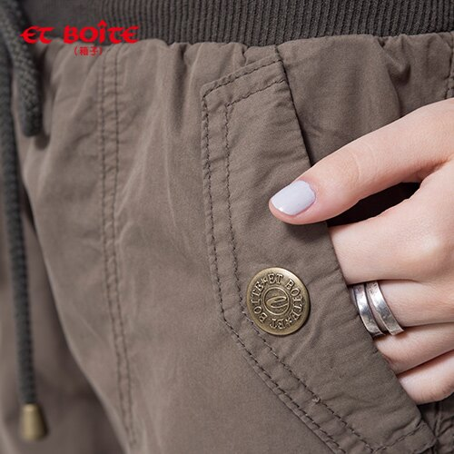 【ET BOiTE 箱子】涼感貼袋工作褲 1