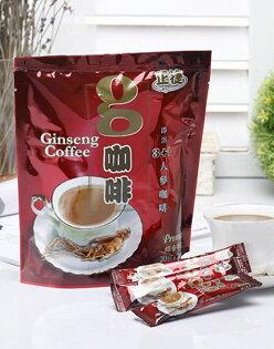 人蔘g咖啡(20gx20入/包)~品味時尚咖啡最佳的選擇,絶對值回票價。