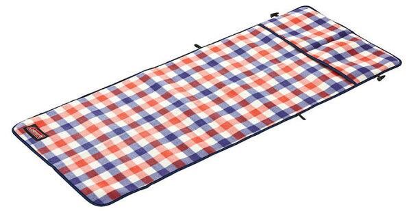 【鄉野情戶外專業】 Coleman |美國| 紅格紋刷毛椅套/導演椅專用椅套 可當野餐墊/CM-26534M000