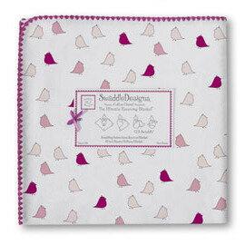 美國【Swaddle Designs】頂級多用途嬰兒包巾 (桃紅小雞) - 限時優惠好康折扣