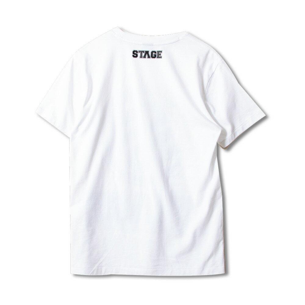 STAGE RETRO CLASSIC LOGO SS TEE  黑色/白色 兩色 4