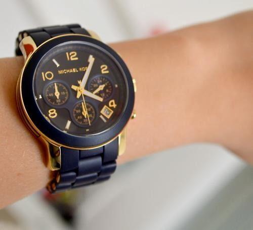 美國Outlet正品代購 MichaelKors MK 黑色橡膠 三環 運動風手錶腕錶 MK5191 8