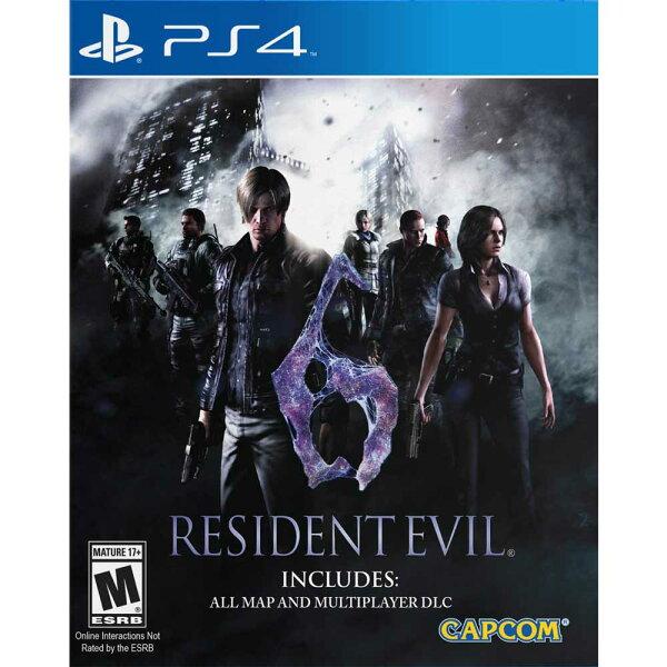 (二手)PS4 惡靈古堡 6 英文美版 (含所有DLC) RESIDENT EVIL 6 BIOHAZARD 6