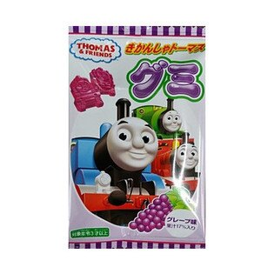 湯瑪士小火車造型葡萄QQ軟糖(18g)