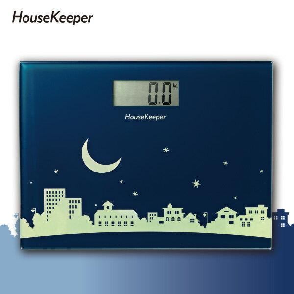 妙管家 月光小鎮電子體重計 HKES-0220
