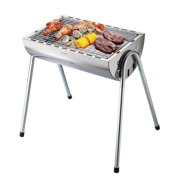 妙管家 不鏽鋼半圓型烤肉爐/烤肉架 HKR-11500 0