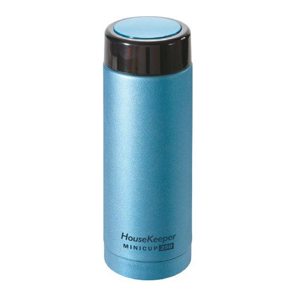 妙管家 真空Mini Cup保溫杯250ml(都會藍) HKVC-M250B 0