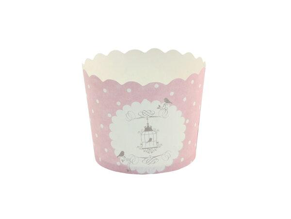 瑪芬杯、杯子蛋糕、烘烤紙杯 MF5040-14 法式鳥籠(50pcs/包)