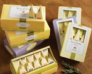 Tea Forte 6入絲質茶包 Medium Tin - 經典集萃 Sampler 1