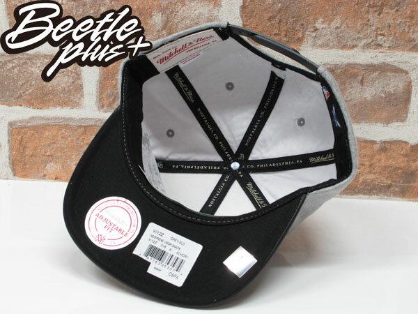 BEETLE MITCHELL&NESS HORNETS SNAPBACK 黃蜂 林書豪 灰黑 皮革 毛巾布 後扣棒球帽 MN-337 2