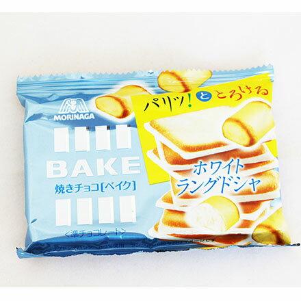 【敵富朗超巿】森永製果 BAKE白巧克力薄鹽餅乾 - 限時優惠好康折扣