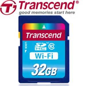 創見 32GB Wifi SDHC Class10 記憶卡