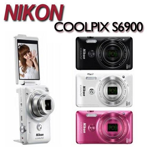 【 現金優惠價★清潔組+保護貼】Nikon COOLPIX S6900 12倍光學變焦相機(公司貨)