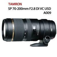Canon佳能到TAMRON SP 70-200mm F/2.8 DI VC USD /A009【公司貨】105年2月1日起至105年6月30日止加送特製紀念版悠遊卡一張(內無儲值金)及台製行動電源一組及延長保固為五年,詳細見官網活動