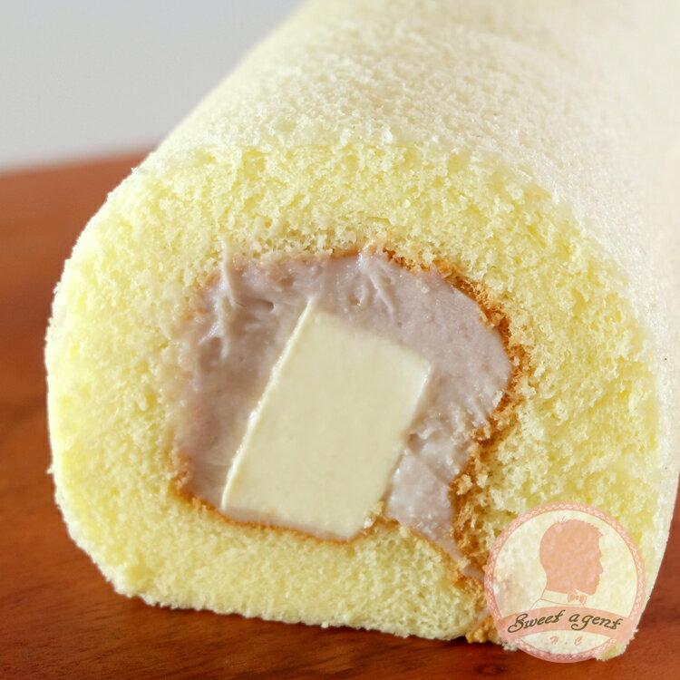 【甜點特務】[ 紫戀芋香奶凍捲 ] 芋香泥 + 鮮奶油 + 鬆綿蛋糕 4