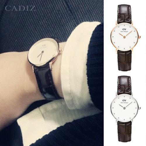 【Cadiz】瑞典DW手錶Daniel Wellington 0902DW玫瑰金 0922DW銀 York 26mm - 限時優惠好康折扣