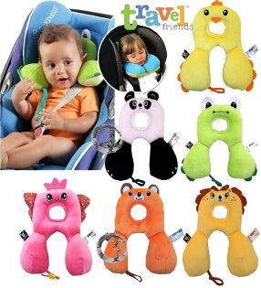 童衣圓【K047-S】K47護頸枕 多功能 護頭 U型 凹型 頸枕 旅行 車枕 寶寶 嬰兒枕 奶嘴帶 新生兒~0-12M