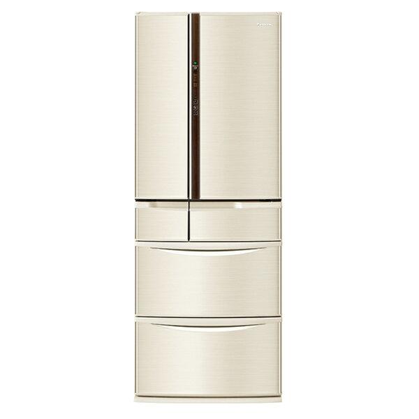 【國際牌Panasonic】ECONAVI旗艦日本製  608L五門變頻冰箱。香檳金/(NR-F610VT/NR-F610VT-N1)
