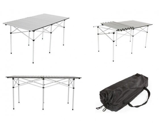 Comprar mesas camping plegables carrefour compara for Mesa plegable carrefour