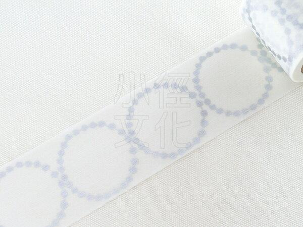 *小徑文化* 日本進口和紙膠帶 mt x 皆川明 聯名款 - 大鼓_優雅銀 ( MTMINA31 )