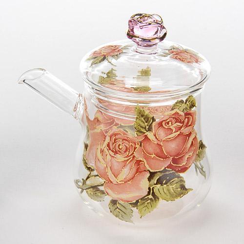 黃金玫瑰 耐熱壺 857~334