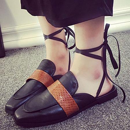 拖鞋 歐美時尚嬉皮隨興綁帶拖鞋【S1591】☆雙兒網☆ 5