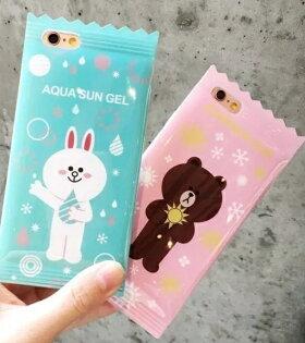 LINE 糖果包裝手機軟殼 iPhone6S / 6S PLUS 保護套