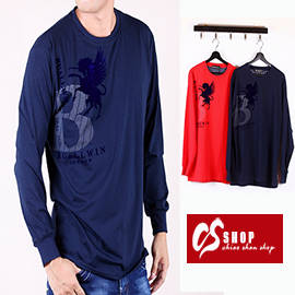 CS衣舖 質感萊卡 彈性布料 長袖T恤 8635 0