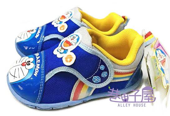【巷子屋】哆啦A夢 男童大頭造型運動休閒鞋 [31476] 藍 MIT台灣製造 超值價$198