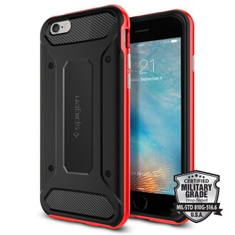➤強檔急殺➤Spigen iPhone 6S Plus Neo Hybrid Carbon-複合式邊框碳纖維保護殼組(2色)