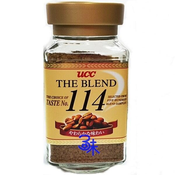 (日本) ucc114咖啡 1罐 90 公克 特價 145 元【 4901201103797 】