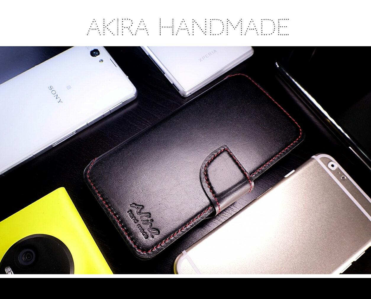 [HTC]Akira手工真皮皮套 [新款可插卡]台灣獨家特別版[D820,D826,A9,M9,M9+,EYE,D620] 3