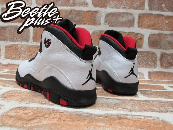 BEETLE PLUS NIKE AIR JORDAN 10 RETRO BG 白黑 黑紅 芝加哥 公牛 喬丹 45 女鞋 310806-102 2