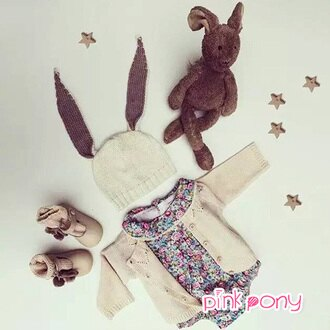 【Pink Pony】秋款素色百搭針織衫外套/童裝